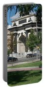 Shadows Of The Triumphal Arch Portable Battery Charger