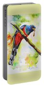 Trogon Feeding Portable Battery Charger