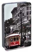 Trolley On Bourbon And Canal  Portable Battery Charger