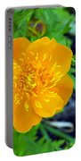 Trollius Blossom Portable Battery Charger