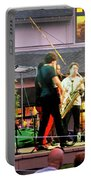 Trombone Shorty And Orleans Avenue, Freeport, Maine   -57584 Portable Battery Charger