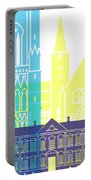 Trondheim Skyline Pop Portable Battery Charger