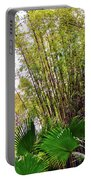 Tropical Bamboo Portable Battery Charger