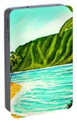 Tropical Beach #361 Portable Battery Charger
