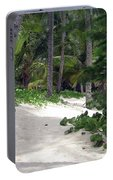 Tropical Beach Portable Battery Charger