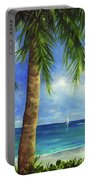 Tropical Beach One Portable Battery Charger