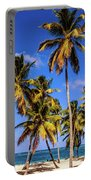 Palms On The Beach Portable Battery Charger