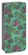 Tropical Beauty Portable Battery Charger