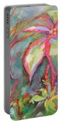 Tropical Beauty Portable Battery Charger by Wendy Ray