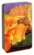 Tropical Delight Still Life Portable Battery Charger
