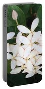 Tropical Flower Portable Battery Charger