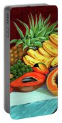 Tropical  Fruits Portable Battery Charger
