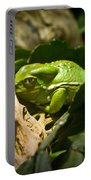 Tropical Green Frog Portable Battery Charger