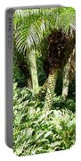 Tropical Green Portable Battery Charger