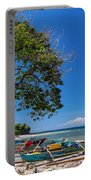 Tropical Island Panorama Paradise Portable Battery Charger
