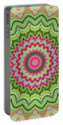 Tropical Kaleidoscope Portable Battery Charger