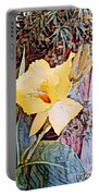 Tropical Lilly Portable Battery Charger