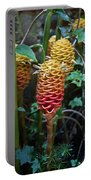 Tropical Mystery Plant Portable Battery Charger