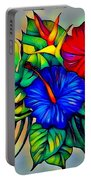 Tropical Neon Boutique  Portable Battery Charger