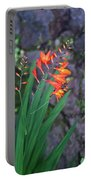 Tropical Orange Lily Portable Battery Charger