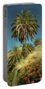 Tropical Palm  Portable Battery Charger