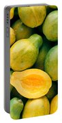 Tropical Papayas Portable Battery Charger