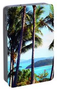 Tropical Paradise Portable Battery Charger