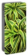 Tropical Plant Portable Battery Charger
