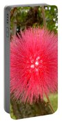 Tropical Red Puff Portable Battery Charger