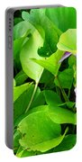 Tropical Rosewood In Hiding Portable Battery Charger
