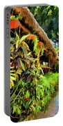 Tropical Splendor Portable Battery Charger