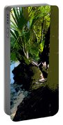 Tropical Spring Portable Battery Charger