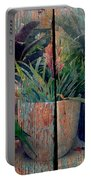 Tropical Still Life Portable Battery Charger