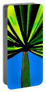 Tropical Tree Portable Battery Charger