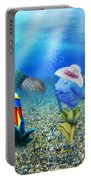 Tropical Vacation Under The Sea Portable Battery Charger