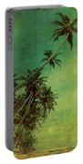 Tropical Vestige Portable Battery Charger by Andrew Paranavitana