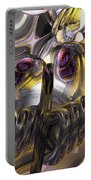 Tropical Wind Abstract Portable Battery Charger
