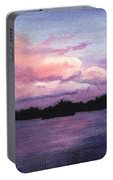 Trout Lake Sunset I Portable Battery Charger