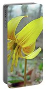 Trout Lily - Erythronium Americanum  Portable Battery Charger