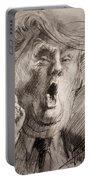 Trump A Dengerous A-hole Portable Battery Charger