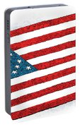 Trump Sweeps Under The Flag Rug Portable Battery Charger