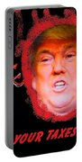 Trumps Taxes Portable Battery Charger