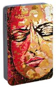 Truth Is Eternal, Asian Painting Portable Battery Charger