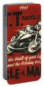 Tt Races 1961 Portable Battery Charger