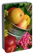 Tub Of Apples Portable Battery Charger