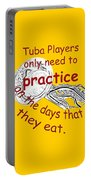 Tubas Practice When They Eat Portable Battery Charger