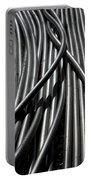 Tubular Abstract Art Number 13 Portable Battery Charger