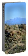 Tucson Mountain Ranges Portable Battery Charger