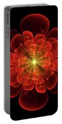 Tudor Rose - Abstract Portable Battery Charger