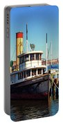 Tugboat Baltimore At The Museum Of Industry Portable Battery Charger